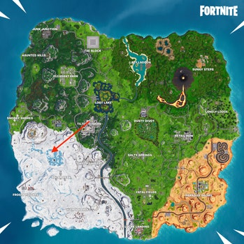 Fortnite Discovery Week 8 location