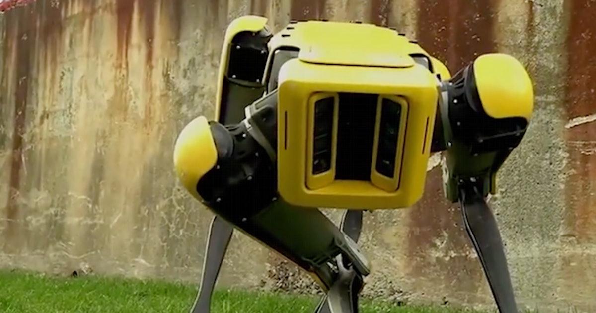 Inverse Daily: Boston Dynamics' robotic dog, Spot hits the streets