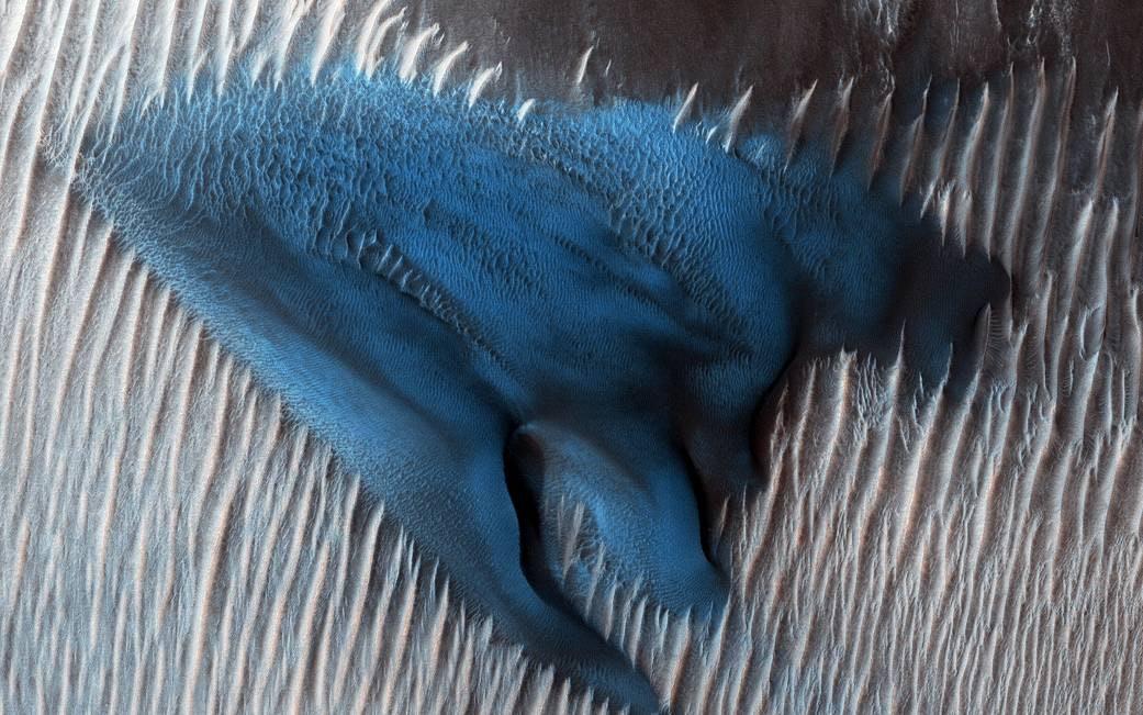mars turquoise dune
