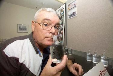 """NASA """"Nasalnaut"""" George Aldrich smell"""