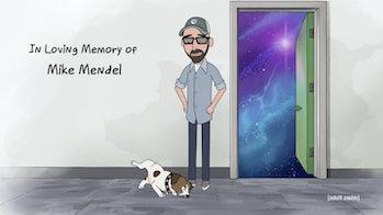 rick and morty season 4 mike mendel tribute
