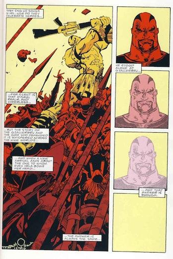 Thor Skurge Ragnarok