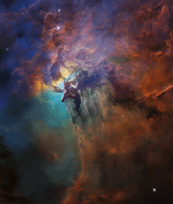 lagoon nebula hubble anniversary