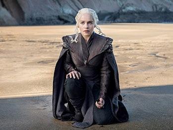 Daenerys (Emilia Clarke) returns to Dragonstone on 'Game of Thrones'
