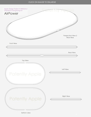 apple airpower design wireless charger