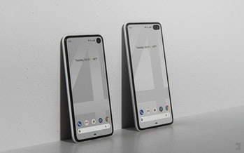 google pixel 4 and 4 xl unofficial renders