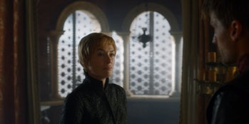 Cersei chats with Jaime.