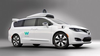A Waymo-powered Chrysler Pacifica. You could ride in one of these!