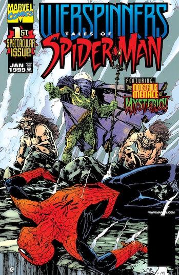 Mysterio Spider-Man Marvel Comics