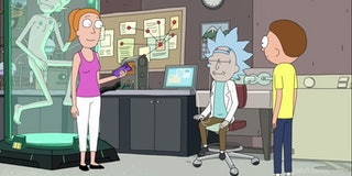 'Rick and Morty's Tiny Rick episode explores what it means to be whole