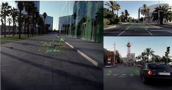 wayray augmented reality cars