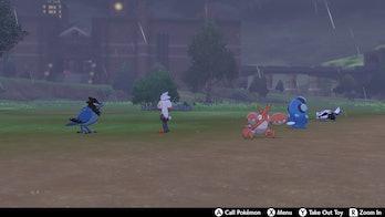 Pokemon at Camp Pokemon Sword and Shield