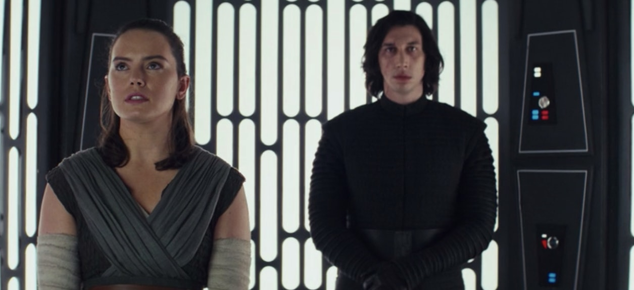 Rey and Kylo Ren compare notes about their future Force-visions