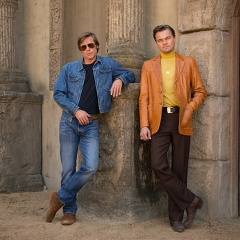 Once Upon a Time in Hollywood Quentin Tarantino Brad Pitt Leonardo DiCaprio