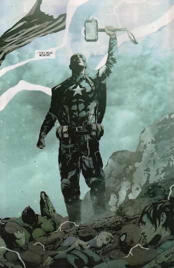 Avengers Endgame Captain America Thor