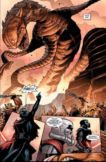 star wars 9 leaks kylo comic sand worm