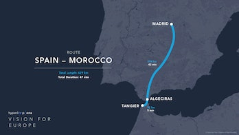 Spain to Morocco