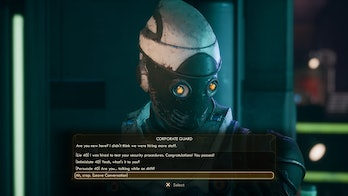 outer worlds holographic shroud disguise guide locations