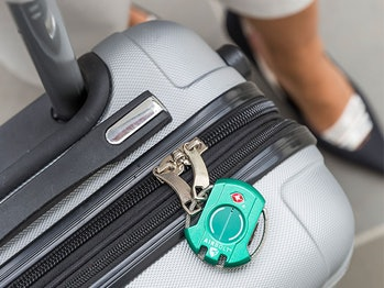 AirBolt Smart Travel Lock (Amazon Green)