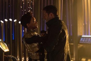 Sonequa Martin-Green and Jason Isaacs in 'Star Trek: Discovery'