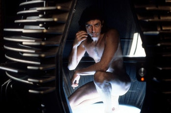 Jeff Golblum in David Cronenberg's The Fly