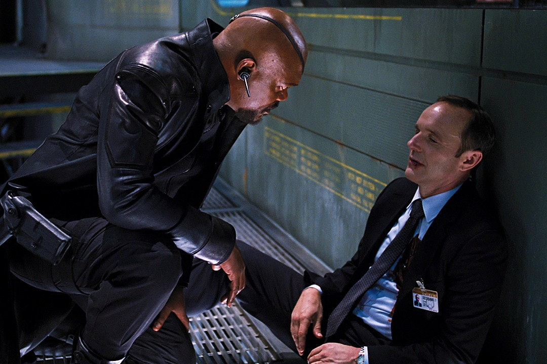 Agent Coulson dies in 'The Avengers' .