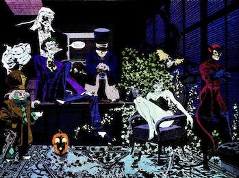 Batman: The Long Halloween from Jeph Loeb, Tim Sale and DC Comics
