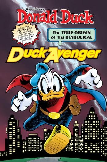 The True Origin Of The Diabolical Duck Avenger