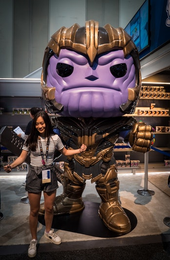 Thanos Funko Pop at San Diego Comic Con
