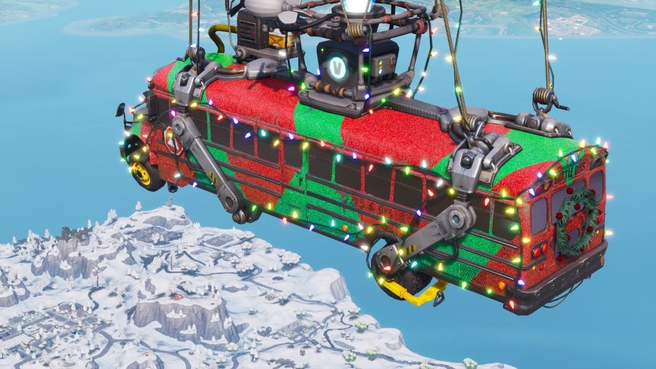 14 Days of Fortnite Battle Bus