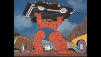 thing cartoon car