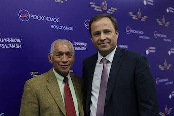 Charles Bolden and Igor Komarov