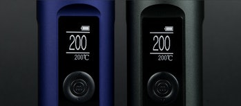 The Arizer Solo II's LED screen is super-precise.