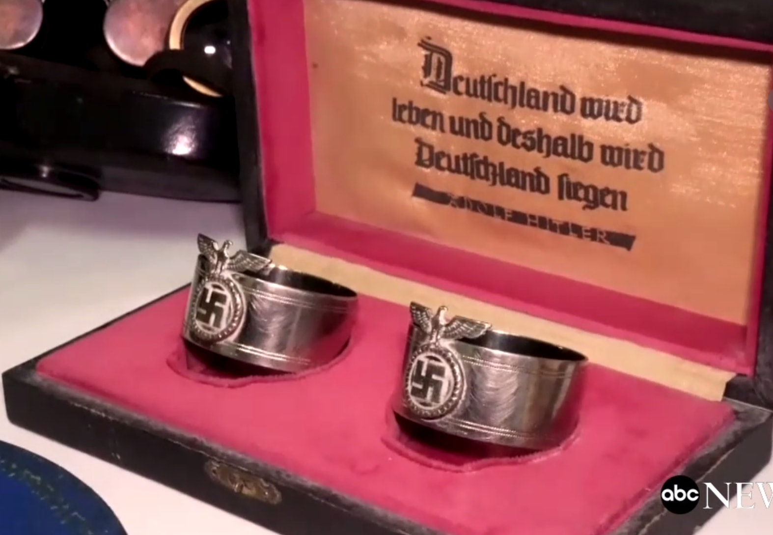 Nazi artifacts found in Argentina house.