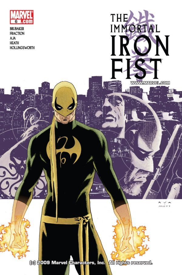 Iron Fist Costume Netflix