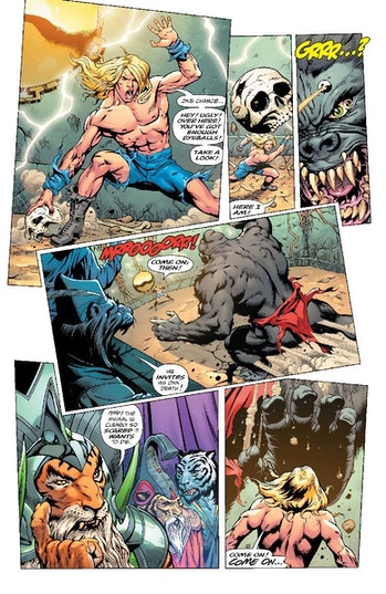 Kamandi Challenge Legends of Tomorrow