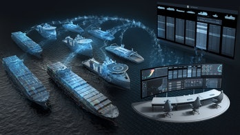 Intel and Rolls-Royce's depiction of their ships in action.