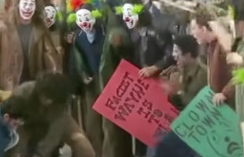 A few of the signs that can be seen in the video.