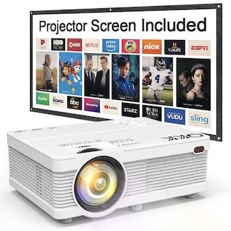 QKK Portable LCD Projector 2800 Brightness