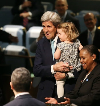 paris agreement john kerry granddaughter