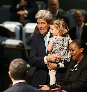 paris agreement john kerry granddaughter