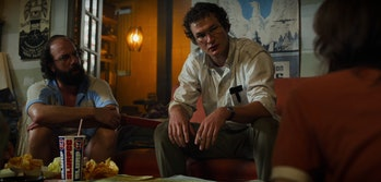 Alexei (Alec Utgoff) with Murray (Brett Gelman) on Stranger Things Season 3