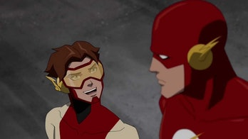 Impulse teams up with his grandfather on 'Young Justice'.