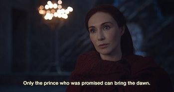 Carice van Houten in 'Game of Thrones' Season 7, 'Stormborn'