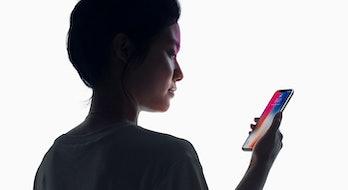 Apple's Face ID.