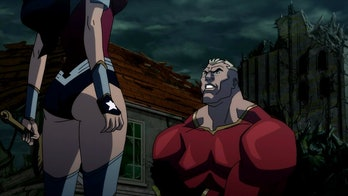 Wonder Woman and Aquaman go from lovers to bitter enemies in 'The Flashpoint Paradox'.
