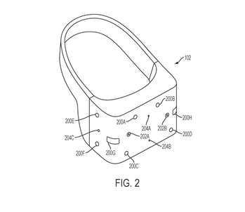 sony ps5 vr headset patent