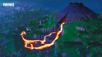 Fortnite Volcano