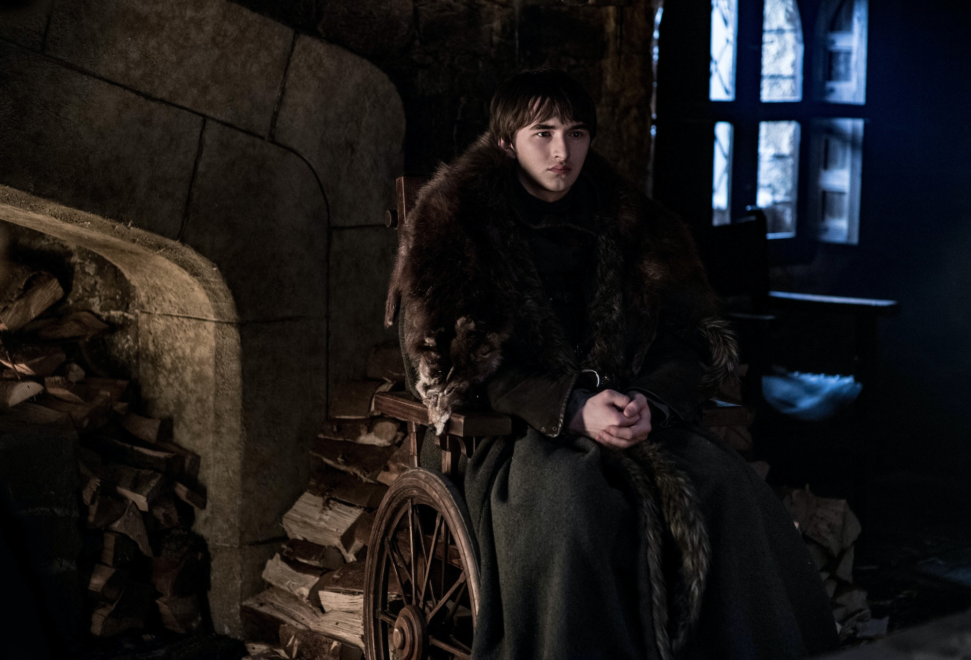 Bran says in the second episode of Season 8 that he knows the Night King will come for him because of the scar he left on his forearm.