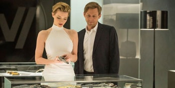 Talulah Riley in season one of 'Westworld'